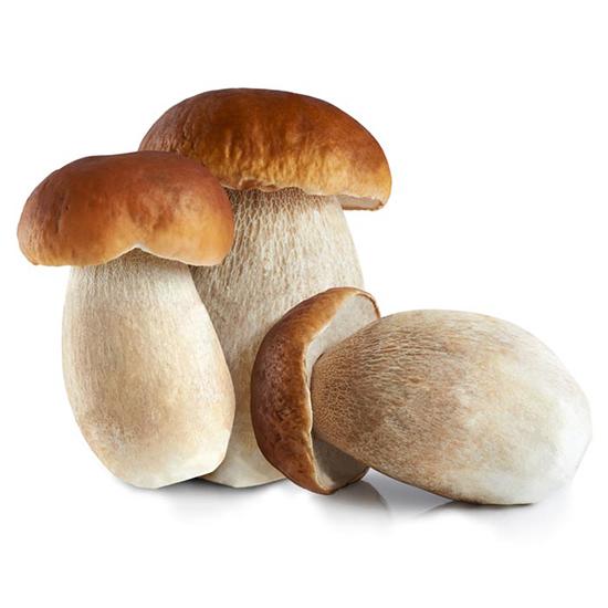 Белые грибы быстрозамороженные