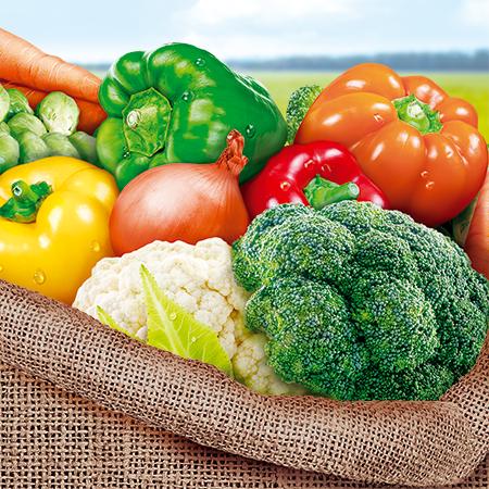 Овощной микс быстрозамороженный